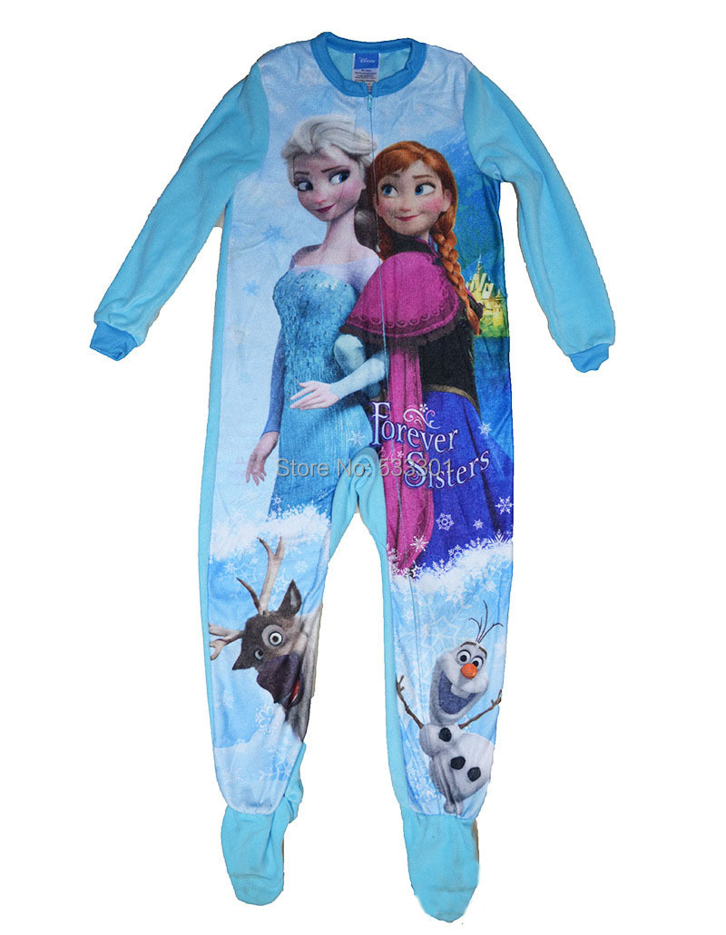 Popular Footed Pajamas Kids-Buy Cheap Footed Pajamas Kids lots ...