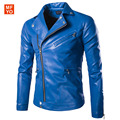 Fashion Man Leather Jackets Pu Leather zipper Jaqueta Masculinas motorcycle leather clothing men's leather jacket outerwear 5XL