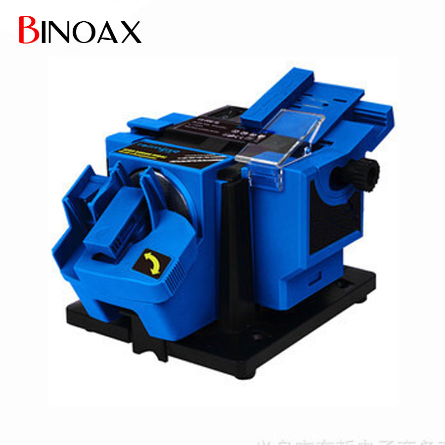 Binoax Electric Household Grinding Tools Multifunction Knife Drill Sharpener Machine Knife & Scissor Sharpener With Retail Box knife sharpener bench vise woodworking fixed angle sharpener grinding machine woodworking fixed angle sharpener