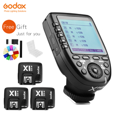 In Voorraad! Godox Xpro N I Ttl 2.4G Draadloze Hoge Snelheid Sync X Systeem Trigger + Godox 3x X1R N ontvanger Voor Nikon Camera S