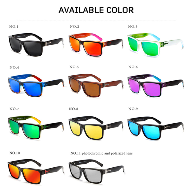 Shocking Colors Sun Glasses