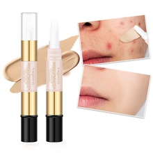 Concealer Face Makeup Base Pen Waterproof Full Coverage Repairing Stick Brighten Nude Makeup Concealer Easy to use Beauty
