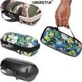 Viagem portátil alça de transporte hard case suporte do saco bolsa com zíper para carga jbl falante sem fio bluetooth 3