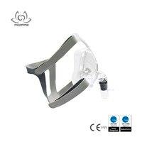 Separy CPAP Miệng Mũi Mask Silicone với Khăn Trùm Đầu cho CPAP Bipap Deevice Ngáy Điều Tr