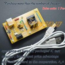 цена на IC Detect STM8-SSOP20 Core board STM8A STM8S STM8L Download seat test socket Programmer adapter 170mi
