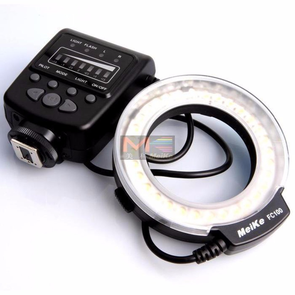Meike FC-Macro Ring Flash Light per Canon EOS 70D 650D T4i T3i T3