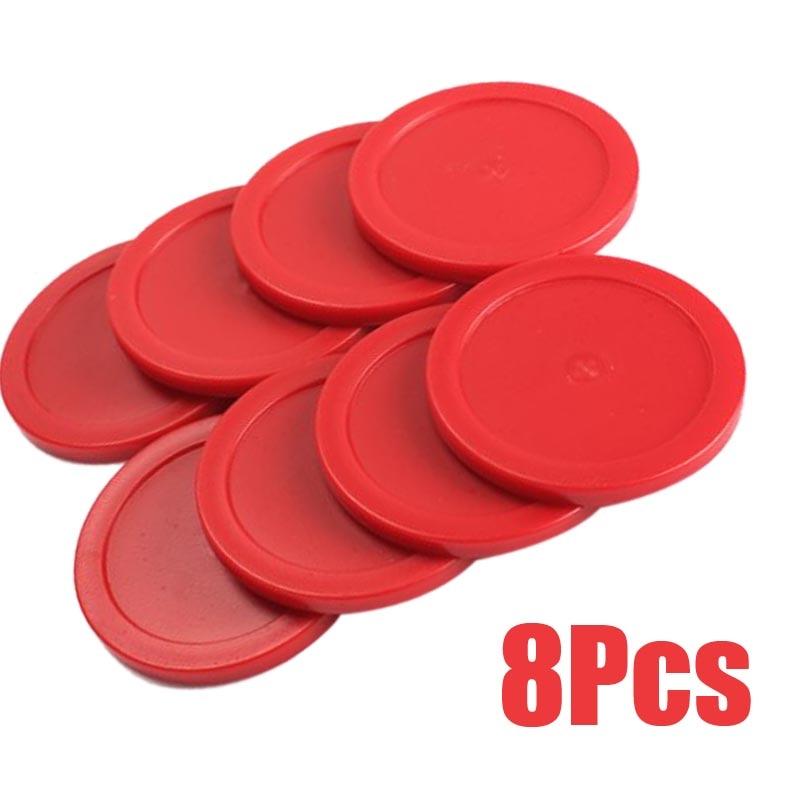 New 8PCS Mini Air Hockey Pucks Children Table Games Entertaining Toys @Z344 88