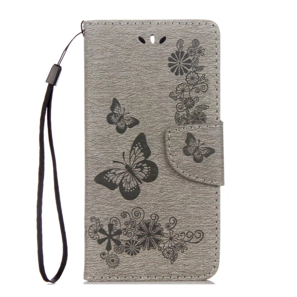 For Huawei Y5 2017 Cover Fashion PU Leather Wallet Flip Cover Silicone Phone case For Huawei Honor Play 6 / Huawei Y5 2017