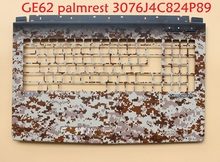 цена на Laptop Palmrest for MSI GE62 GE62VR 7RE 7RF Camo Squad 3076J3A713P89 3076J4C824P89 E2P-6J4C824-P89 upper case GS83 GS83VR