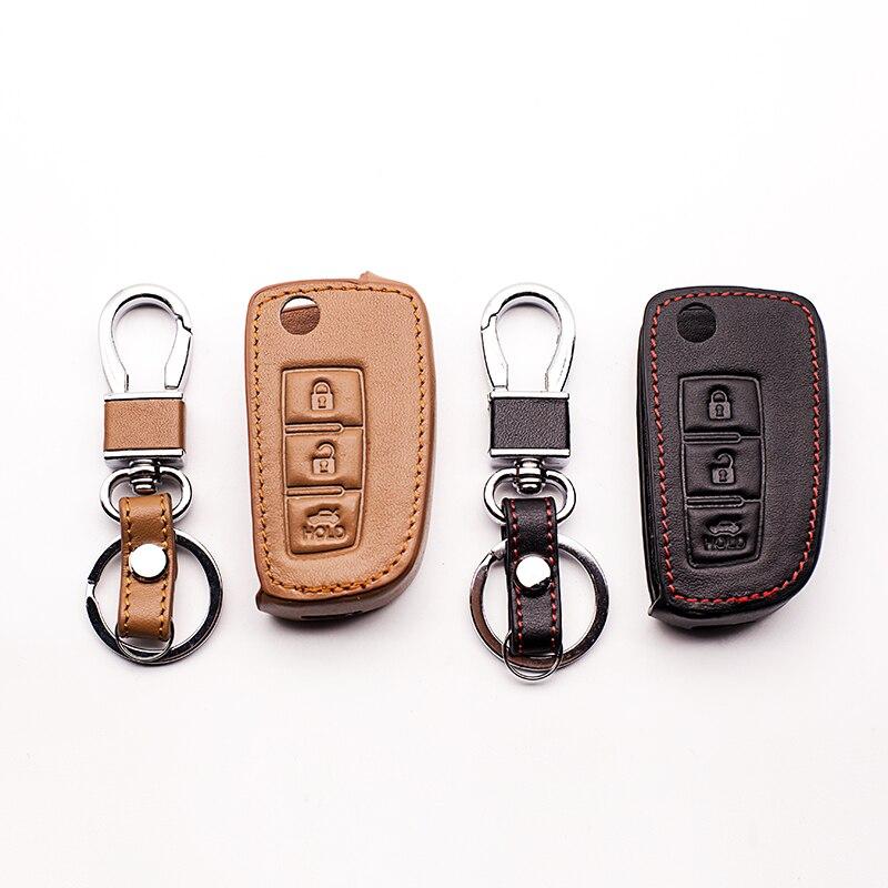 Кожа высокого качества ключ кожаный чехол для ключей для Nissan Qashqai X Trail-Murano M ...