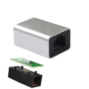 Image 5 - Сетевой разъем Cat6 из алюминиевого сплава Rj45 8P8C, соединительная муфта для подключения к гнезду, соединительный кабель Lan, удлинитель шнура