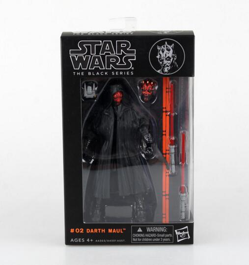 <font><b>Star</b></font> <font><b>Wars</b></font> <font><b>Darth</b></font> Maul <font><b>6</b></font>'' <font><b>Action</b></font> <font><b>Figure</b></font> <font><b>Black</b></font> <font><b>Series</b></font> <font><b>6</b></font> Boba Fett <font><b>Darth</b></font> Vader Kylo Ren Stormtrooper Figuras Movie KidsToys