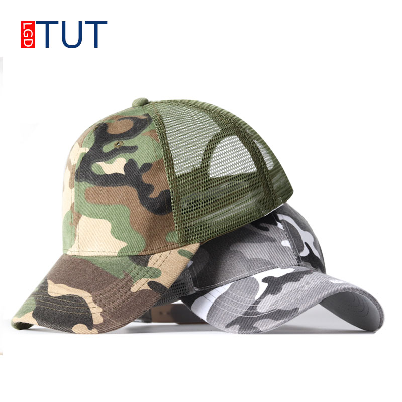 2018 New Women's Baseball Caps Camouflage Hat Outdoor Casual Caps Women & Men dad hat Baseball Hats Student Hat [LGDTUT] aetrue winter knitted hat beanie men scarf skullies beanies winter hats for women men caps gorras bonnet mask brand hats 2018