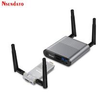 Measy אוויר מיני 200M/656FT 2.4GHz / 5GHz אלחוטי WIFI HDMI אודיו וידאו Extender משדר סנדר מקלט ערכת עם IR לולאה החוצה