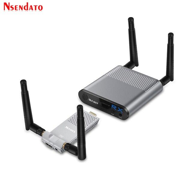 Measy Air Mini 200M/656FT 2,4 ГГц/5 ГГц Беспроводной Wi Fi HDMI аудио видео удлинитель передатчик приемник комплект с ИК выходом