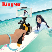 Kingma Gopro Accessories Shutter Trigger Set Floating Handle Bobber Accessories For Gopro Hero 4 3 Xiaomi Yi Housing Case