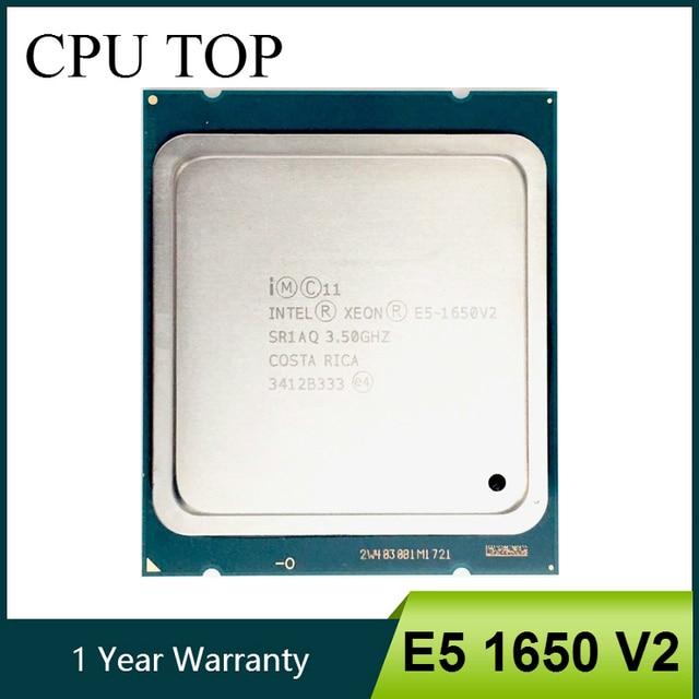 Intel Xeon E5 1650 V2 3.5GHz 6 Core 12Mb Cache Socket 2011 מעבד מעבד