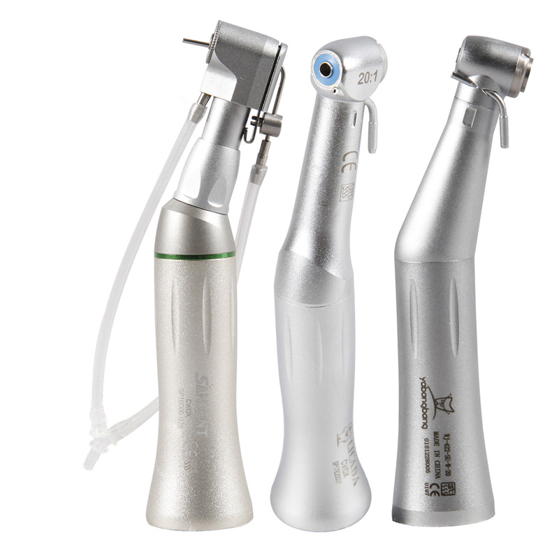 Dental 20:1 Implant Handpiece Contra Angle For Implant Motor Latch/Push TypeDental 20:1 Implant Handpiece Contra Angle For Implant Motor Latch/Push Type