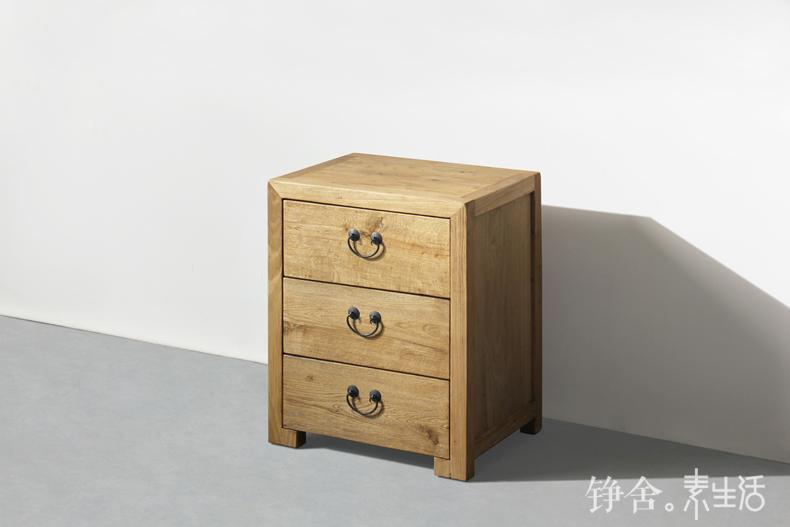 Online Shop Home Solid Wood Bedside Cabinet Drawer Cabinet Lockers Iron  Craft Small Bedside Cabinet To Do The Old Creative Antique Cupboards |  Aliexpress ...