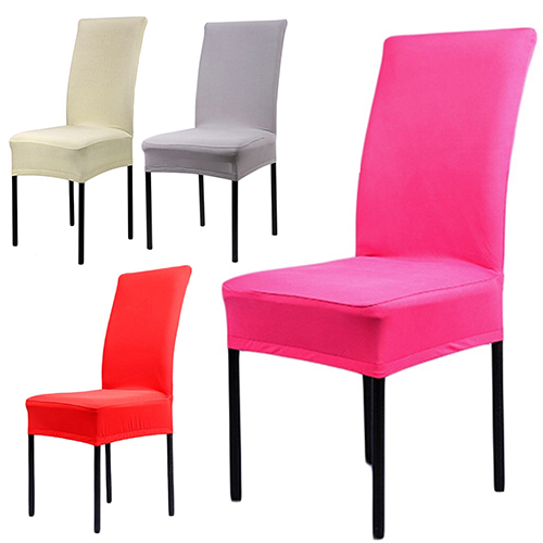 Us 2 47 33 Off Dining Chair Covers Spandex Stretch Room Protector Slipcover Decor In Cover From Home Garden On Aliexpress