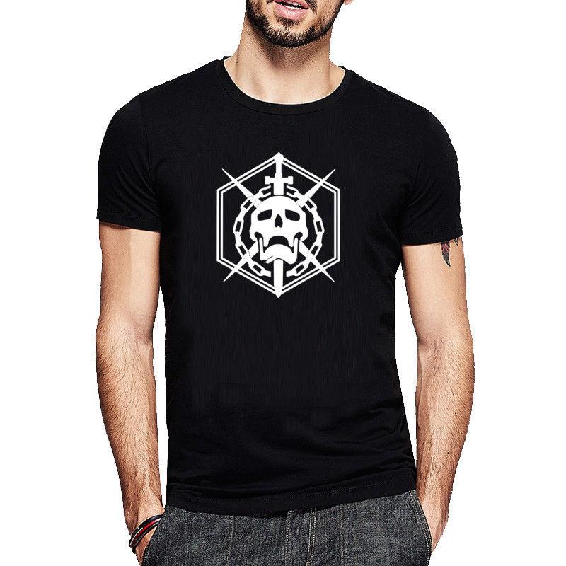 New Destiny 2 Laviathan Raid Skull Logo T-Shirt Hunter Titan Warlock Emblem Mens Adults Casual Tee Shirt