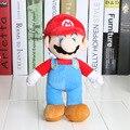 10 unids/set 25 cm Super Mario muñecos de peluche Super Mario Felpa Suave de Mario Luis mario bros juguetes de peluche de cumpleaños de la Navidad regalos