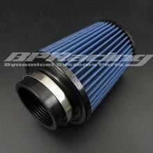 BPRACING 2,75 дюйма/70 мм ID/общий высокий 185 мм 7,28 дюйма/Универсальный конический круглый конический воздушный внутренний хлопковый марлевый фильтр синий