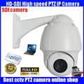Security camera 1080P Mini SDI camera PTZ 10x zoom camera High Speed Dome 1080P HD SDI PTZ Camera Support OSD IP66 waterproof