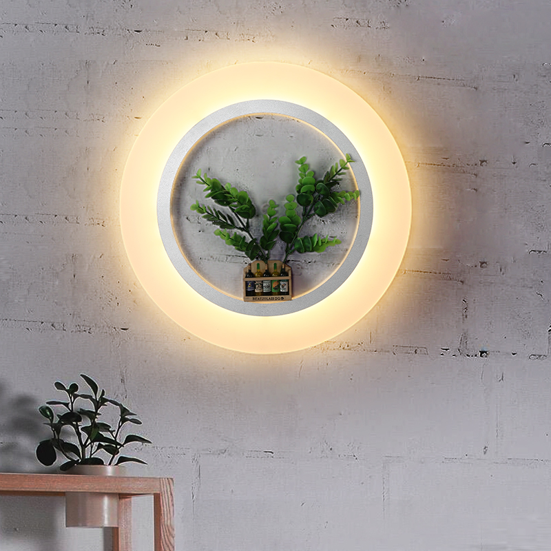 цены Acrylic new led wall sconces modern wall lights living room bedroom home decoration lighting fixtures LED wall lamp for bedroom
