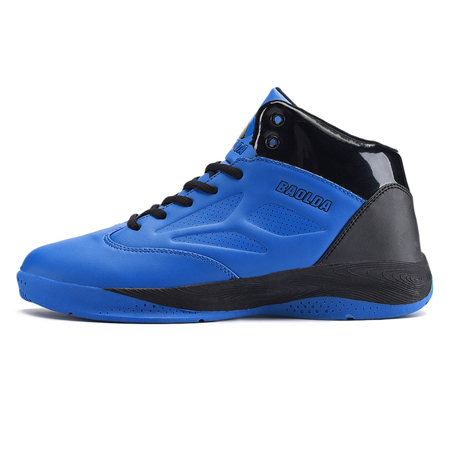 Zeeohh High Top Cushioning Shockproof Lace Up Basketball Shoes/Sneakers