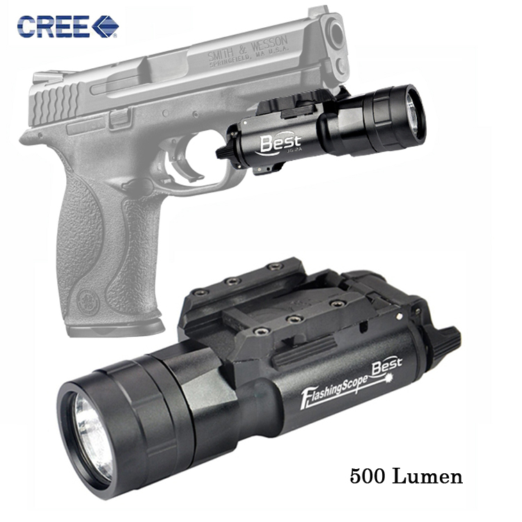 Super bright 500 Lumen LED white light Gree Tactical Flashlight with picatinney rail for handgun pistol handgun flashlight JG-2A hard drive for 4600r 4300r st336705lc 9p6001 302 well tested working 90days warranty page 7