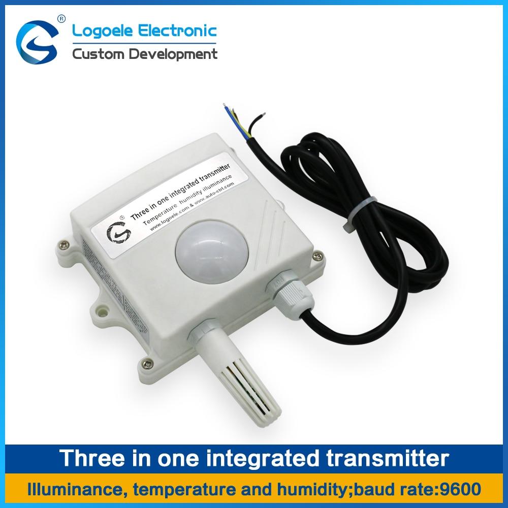 все цены на Three in one sensor module temperature, humidity and light intensity integrated  transmitter MODBUS485 output  Free shipping онлайн