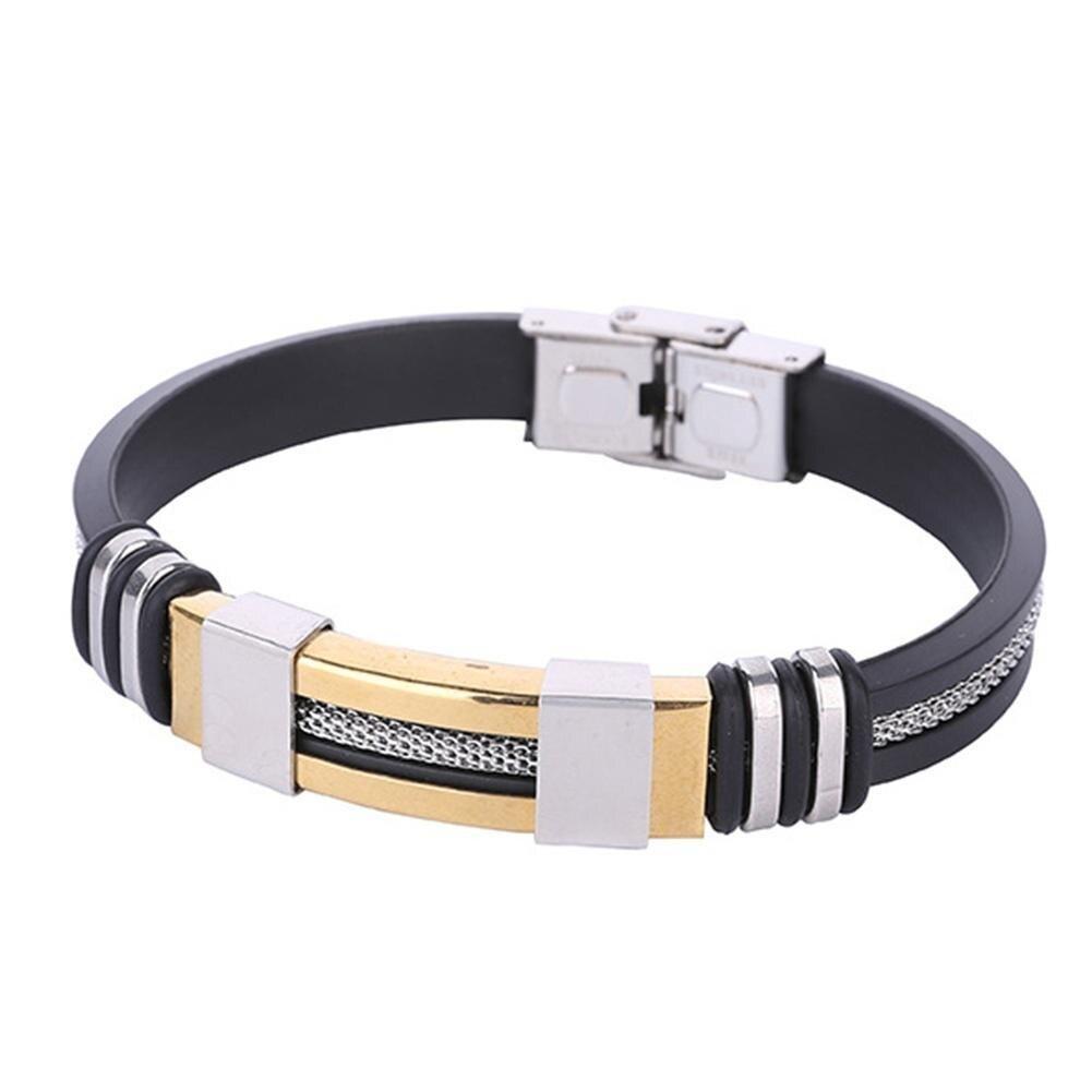 Fashion Stainless Steel Men Bracelet Jewelry Bangle Wrist Band Party Decoration