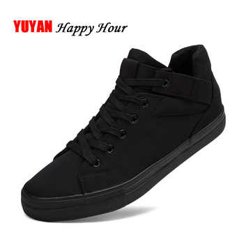 Sneakers Mens Canvas Shoes Fashion Cool Street Sneakers Breathable Men's Casual Shoes Male Brand Classic Black White Shoes KA241 - DISCOUNT ITEM  43% OFF All Category