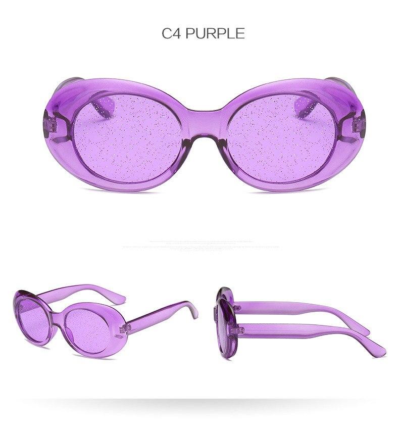 c9d69dc3874 Kaleidoscope Glasses Clout Goggles Sunglasses Vintage NIRVANA Kurt ...
