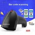 X8R Новые беспроводные подключаемые по Bluetooth сканеры штрих-кодов 1D мини-считыватель штрих-кодов для iOS  Windows Android бар сканер системы 25 миллионо...