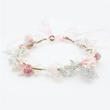 HIYONG 2019 Lastest Floral Headbands Girls Headband Baby Hair Accessories For Birthday Party Show