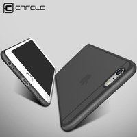 Original CAFELE Phone cases for iphone 6s case Micro Scrub Candy colors PP cover for Apple iphone 6 plus Fashion Flexible shell