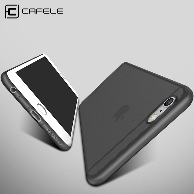 sale retailer 7df6e 79e9e Original CAFELE Phone cases for iphone 6s case Micro Scrub Candy ...