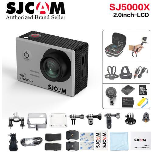 NTK96660 SJCAM SJ5000x Elite WiFi 4 K 24fps 2K30fps Gyro Sports DV 2.0 LCD plongée 30 m étanche meilleure Action Cam