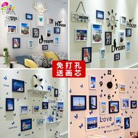 bonded 3D Stereo background wall sticker roomWarm bedside wallpaper Paint bedroom wall decorations party decoration
