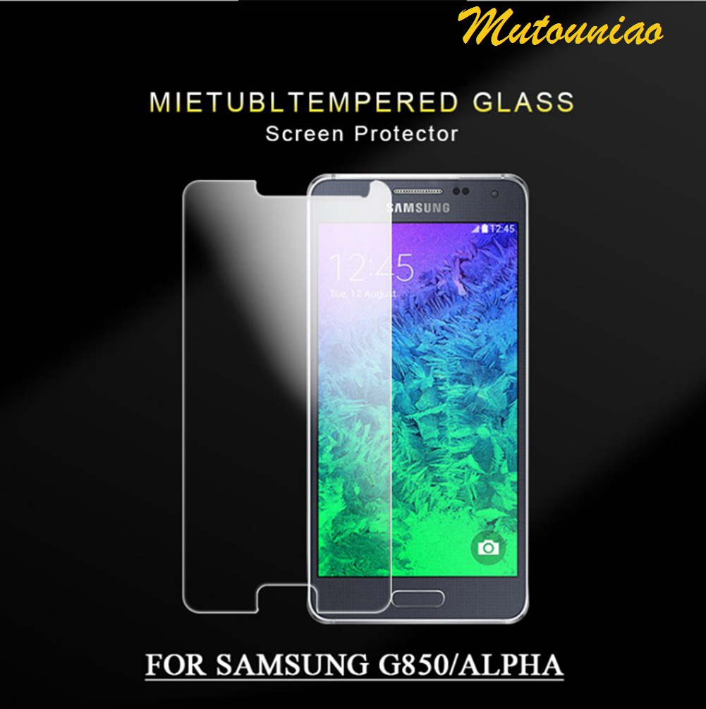 MuTouNiao For Samsung GALAXY Alpha G850 9H Premium