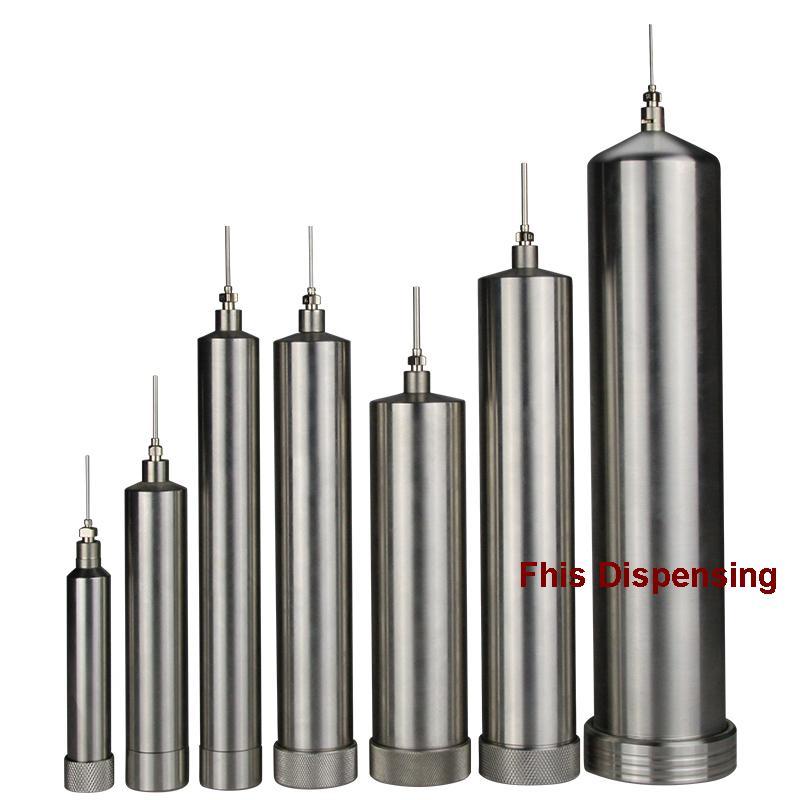 10CC/30CC/55CC/100CC/300CC/500CC corrosion-resistant stainless steel cones dispensing syringe