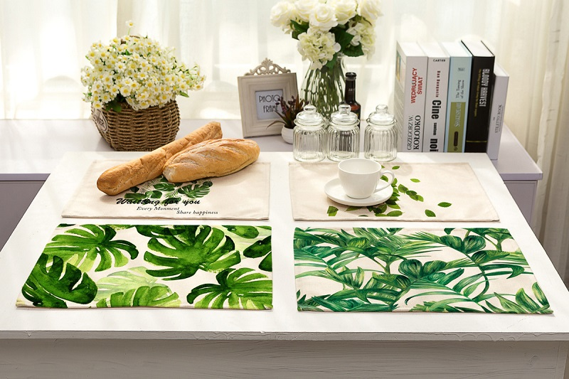 tropical interior design beautiful home interiors.htm tropical leaves print table napkins for wedding party table cloth  tropical leaves print table napkins for