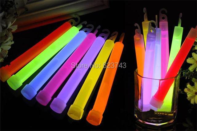 Pz lotto glow fluorescente stick chimica illuminazione auto