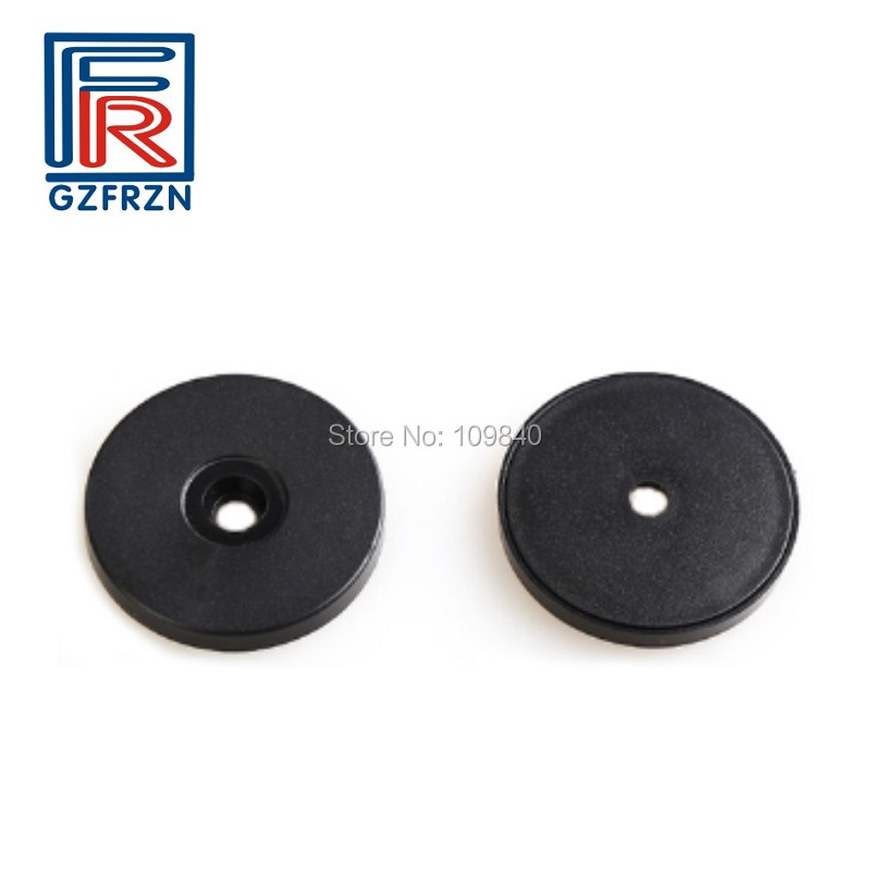 100pcs/lot 13.56MHZ ABS RFID Token,Patrol Point RFID Disc Tag  ISO14443A With M1 S50 Chip For Patrolling