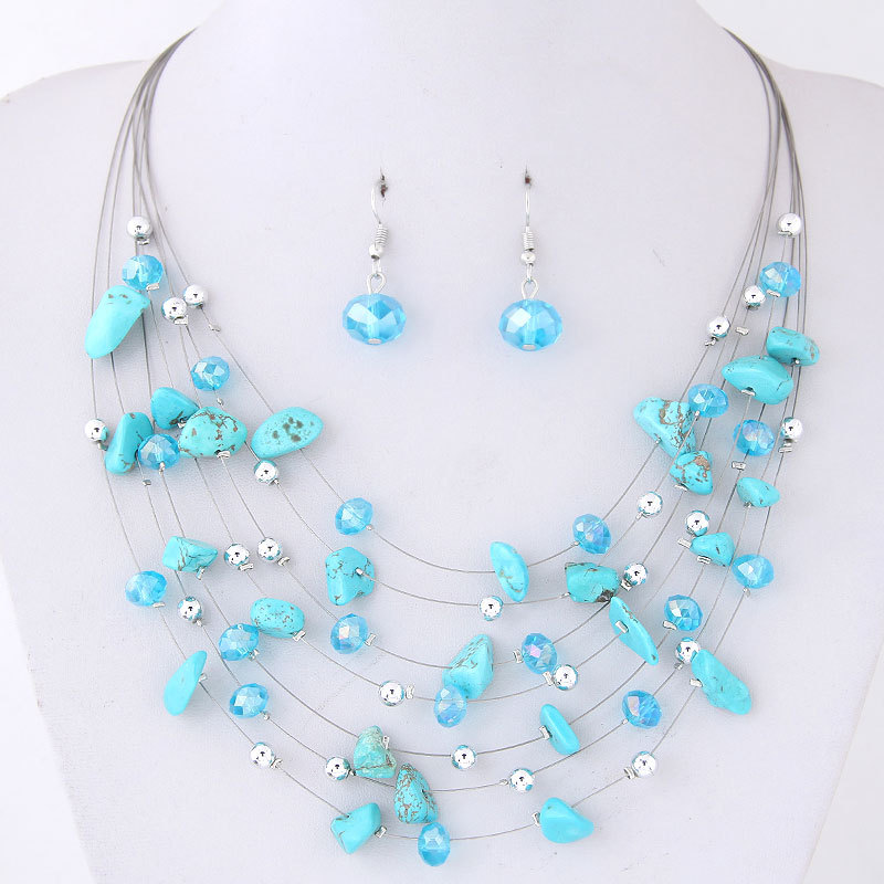KMVEXO Bridal Wedding Jewelry Sets Women Charm Purple Crystal Coral Necklace Earrings Set African Beads Jewelry Set Bijoux Femme