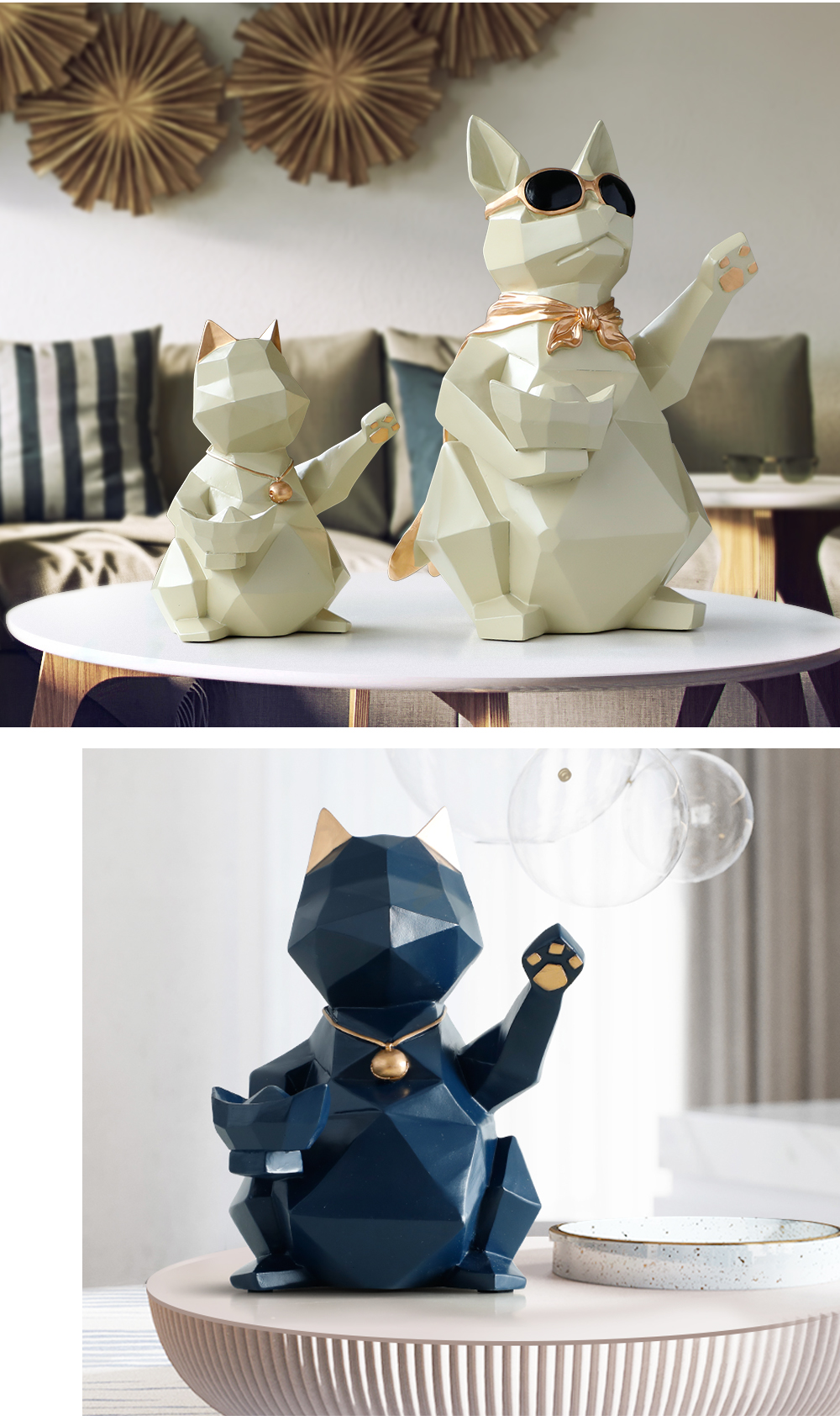 Modern Animals Miniature For Home Decoration Free Shipping