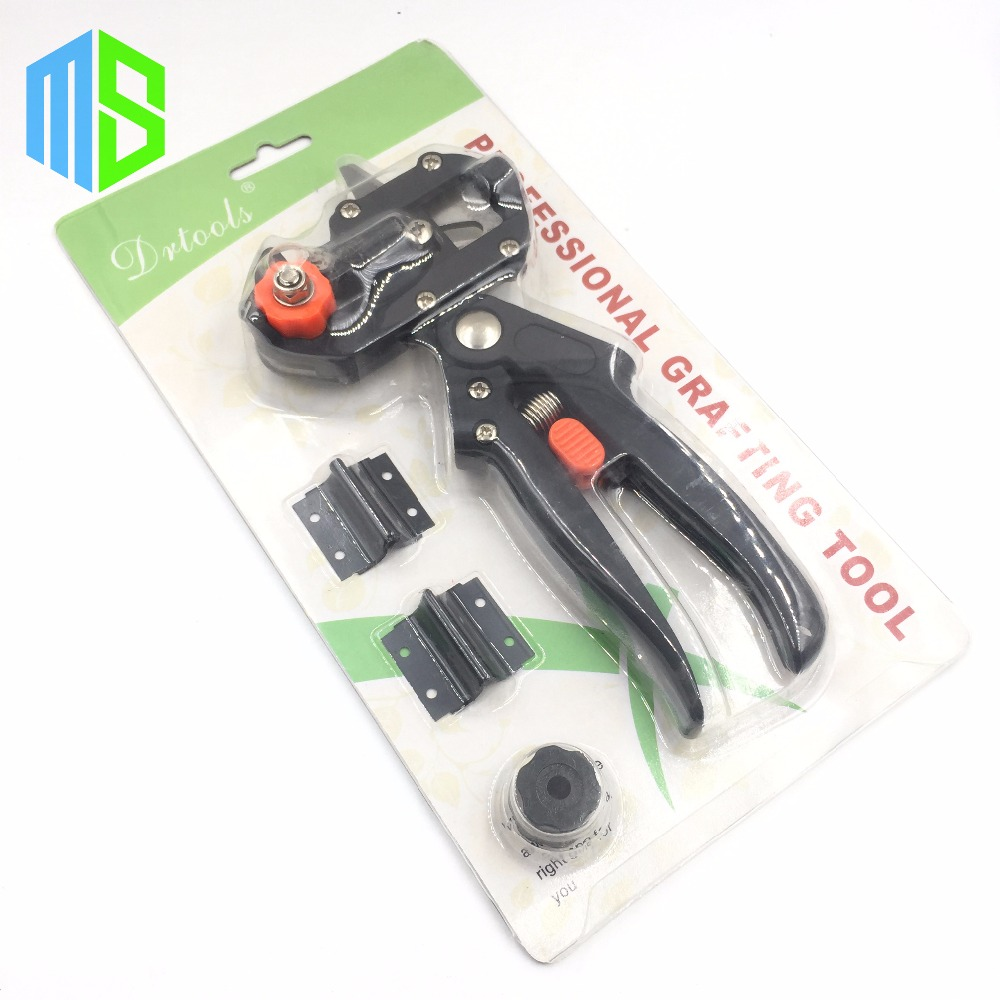 Black set garden fruit tree pro pruning shears scissor for Garden cutting tool set