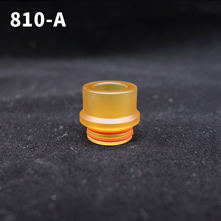 1pc 810 Ultem DripTips Pei Material Wide Mouthpiece Electronic Cigarette Accessory For 810 Atomizer Tank